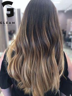 Gorgeous new balayage look by Tish Gleam Hair Studio Miami
