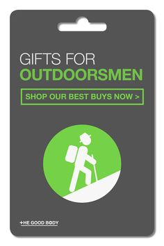 If you're shopping for someone that loves the great outdoors then treat them to a thoughtful gift they'll really appreciate!  Discover the best gift ideas for the outdoor fanatic in your life!