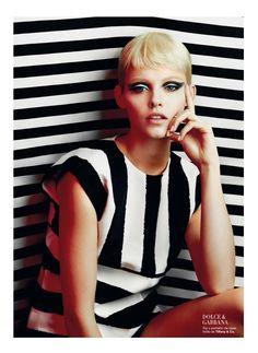 Majorly mod. @Lisa Harper's Bazaar