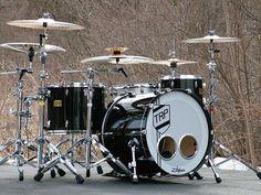 Drum Kit Outdoors