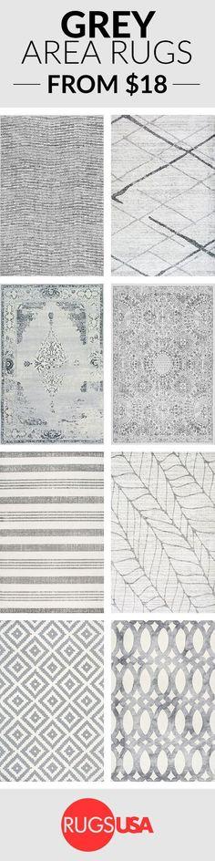 Grey Area rugs #rugs #gray #grayrugs #kitchenrugs #bedroomrugs #diningroomrugs #livingroomrugs #arearugs #ad #tg