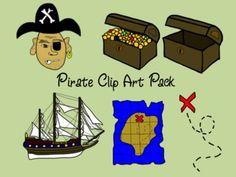 Pirate Clip Art Pack