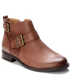 Vionic Country Logan Buckle Block Heel Ankle Boots $249