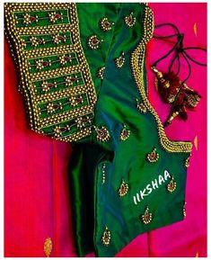 Cutwork Blouse Designs, Kids Blouse Designs, Kerala Saree Blouse Designs, Simple Blouse Designs, Stylish Blouse Design, Sari Blouse, Hand Designs, Mehndi Designs, Mirror Work Blouse Design