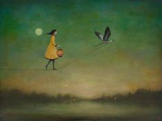 Les Peintures acryliques poétiques de Duy Huynh (9)