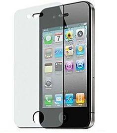 iPhone 4 / 4S Anti-Glare  Anti-Scratch  Anti-Fingerprint - Matte Finishing Screen Protector: http://www.amazon.com/iPhone-Anti-Glare-Anti-Scratch-Anti-Fingerprint-Finishing/dp/B0042FV2SI/?tag=antsupsto05-20