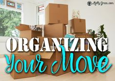 Tips on a (Somewhat) Organized Move by Alicia Hutchinson- In the past three and… Moving To Texas, Moving To Florida, Moving Day, Moving Tips, Moving House, Moving Across Country Tips, Organizing For A Move, Planning A Move