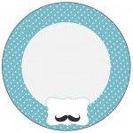 Tubetes Chá de Bebê Mustache