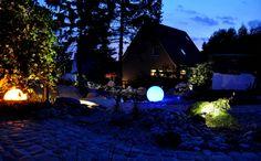 romantische gärten beleuchtet   Romantische Beleuchtung