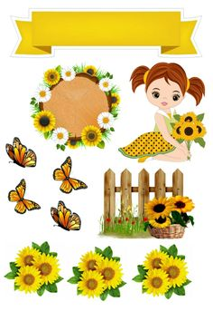 Sunflower Template, Welcome To School, Clip Art Pictures, Art Girl, Flamingo, Cake Toppers, Personalized Gifts, Art Drawings, Pikachu