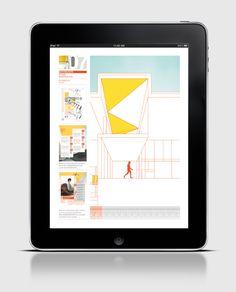 UNOENUNO - Revista digital de arquitectura moderna by Lucas Fosque, via Behance