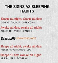 zodiac sign's sleeping habit, aries, taurus, gemini, cancer, leo, virgo, libra, scorpio, sagittarius, capricorn, aquarius, pisces