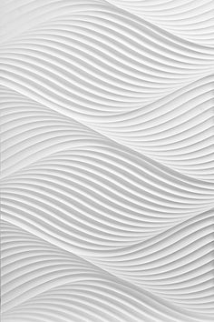 We're loving this 3D wave texture. Wonder how that would transpire onto our fabrics?!