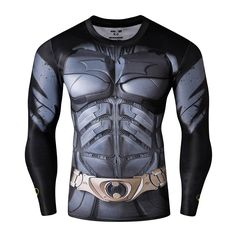 14f9bf17ce271 8.99  2016New mode Fitness Compression chemise hommes Cosplay mâle Crossfit  grande taille musculation hommes t shirt 3D imprimé Superman haut dans T- Shirts ...