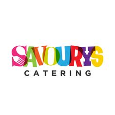 Modernism and Mid Century logo for catering company by Sandro Bacic
