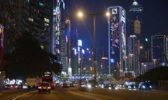 Driving in HK