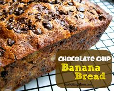 Chocolate Chip Banana Bread - STOCKPILING MOMS™ I added peanut butter to it too!