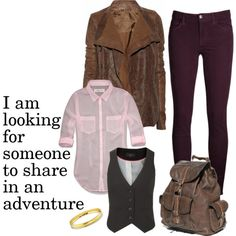 """""""In a hole in the ground"""" by acatlady on Polyvore..hobbit-inspired outfit."""