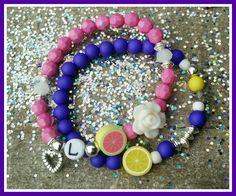 @jadoresieraden Stay Fruity🍊💕😘 #diy #armbandjes#bracelet #kralen #beads #bedel #fruit #klei