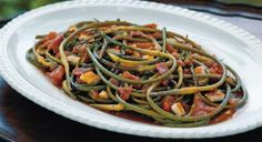 Garlic and Garlic Scape Recipes - For anybody in a CSA who is getting garlic scapes in their shares.  :)