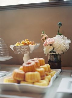 Bundt Cakes Display