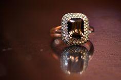 Brown | Smokey Quartz | Rose Gold | Champagne Diamond | Elegant | Jewelry | Fashion | #WSJewelry