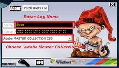 adobe cs5 master collection serials smileyboy07 h33t