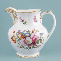 Coalport Porcelain Jug from Windsor Castle 1830's