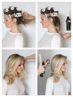 How to hot roll your hair!:
