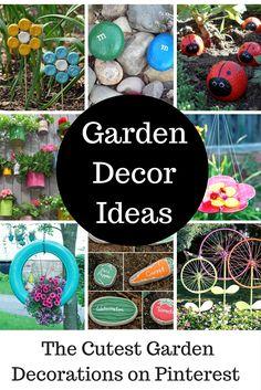 Cute Garden Decor Ideas | Princess Pinky Girl