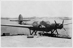 Rescue seaplane Cant z. 506B belonged to Italian-139 Squadron. July 29, 1942…