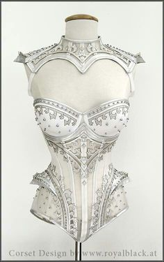 The Crown Princess Overbust Corset - Royal Black Couture & Corsetry