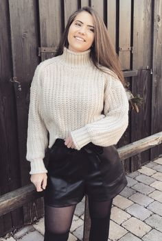 Fashion What You Think, Things To Think About, Thinking Of You, Turtle Neck, Let It Be, Sweaters, How To Make, Style, Fashion