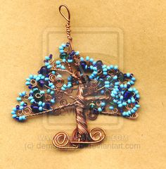 blue tiff tree by ~demonspryte on deviantART