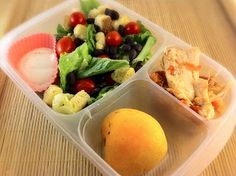 Operation: Lunch Box: Day 7 - Chicken for One
