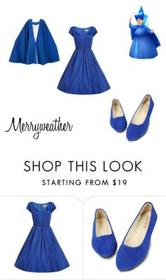 """""""Halloween: Merryweather"""" by danny-wolf ❤ liked on Polyvore featuring Yves Saint Laurent"""