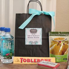 Out of Town Guest Bag // Wedding Welcome Bag // by thefavorbox, $28.00