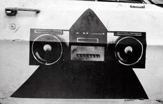 Ford Timelord - Pyramidblaster -  Outside Trancentral - November 1991