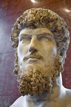The Louvre, Paris - Head of Lucius Verus