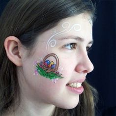Easter Face Paint!!! <3