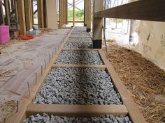 Finished Toe Ups - Strawbale House Build in Redmond Western Australia