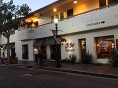 The food and service is very good. Cibo Ristorante Italiano  Cocktails - Dinner - Jazz  301 Alvarado Street  Monterey, CA 93940