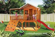 Cubbyhouse kits : Diy Handyman Cubby house : Elevated Cubbies : Timberwolf