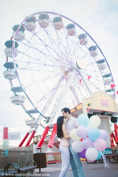 carnival inspired engagements http://www.weddingchicks.com/2014/02/18/carnival-engagement-photo-ideas/
