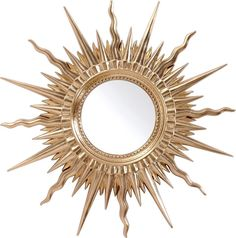 Stylish Design Furniture - PU063 - Transitional Gold Round Mirror, $125.00 (http://www.stylishdesignfurniture.com/products/pu063-transitional-gold-round-mirror.html)