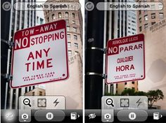 There are plenty of online and app-based translators that depend on the user to input text for translation. But what if you could simply point your iPhone at signs, menus, ads, or printed matter and have it translate visually on the fly? That's the idea behind the iOS app, Word Lens, a free iPhone/Touch app. Video of it in action below...