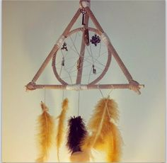 Harry Potter Dream Catcher by WishesWingsAndWhimsy on Etsy