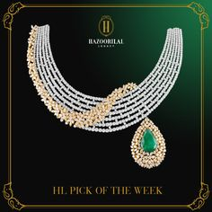 #HLPickOfTheWeek : Reminiscent of a sublime floral vine.  #HazoorilalLegacy…