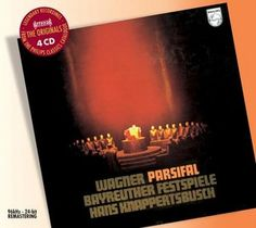 Wagner Parsifal - Thomas/Dalis/Hotter/ Knappertsbusch - Decca