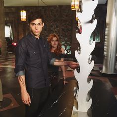 Take note from Matthew Daddario. You won't want to miss a second of Shadowhunters. | Shadowhunters